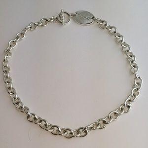 Vintage Lauren Ralph Lauren Silver Chain Choker